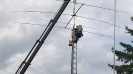 Antenna Raising at the club station_58